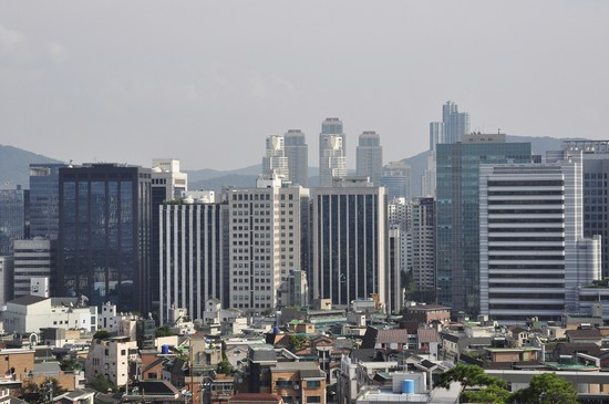 Photo Skyline in Seoul - Pictures and Images of Seoul - 550x365  - Author: Editorial Staff, photo 5 of 11