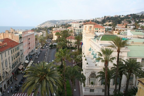 Photo Il corso e il casinò in Sanremo - Pictures and Images of Sanremo