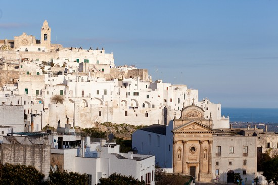 Photo la citta bianca ostuni in Ostuni - Pictures and Images of Ostuni - 550x366  - Author: Editorial Staff, photo 1 of 46
