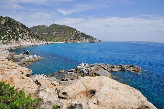 Punta Molentis a Villasimius