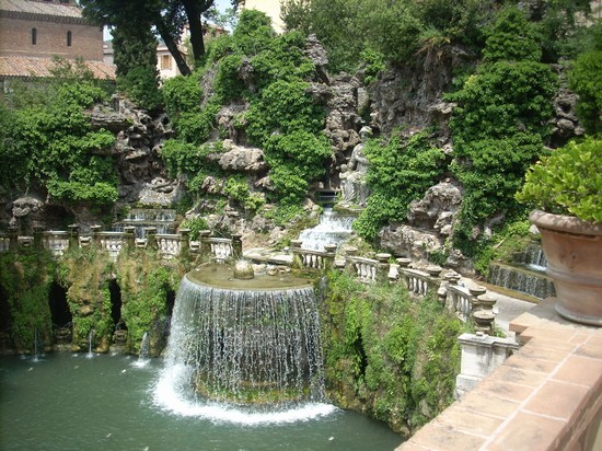 Photo Villa d'Este in Tivoli - Pictures and Images of Tivoli