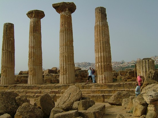 Photo Tempio di Ercole in Agrigento - Pictures and Images of Agrigento