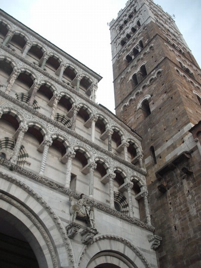 Photo Duomo di San Martino dettaglio in Lucca - Pictures and Images of Lucca