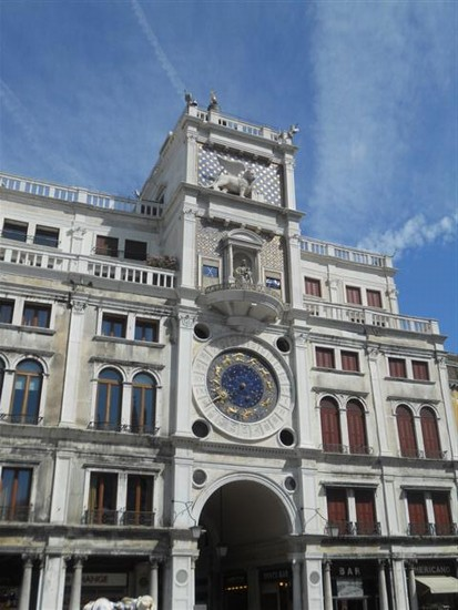 Photo torre dell orologio venezia in Venice - Pictures and Images of Venice - 413x550  - Author: Ludovico, photo 393 of 720