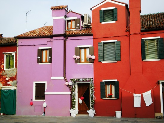Photo Burano in Venice - Pictures and Images of Venice