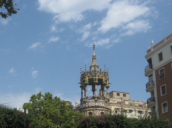 Photo la rotonda barcellona in Barcelona - Pictures and Images of Barcelona - 550x412  - Author: Barbara, photo 416 of 609