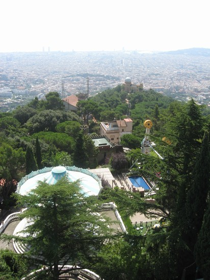 Photo tibidabo barcellona in Barcelona - Pictures and Images of Barcelona - 412x550  - Author: Barbara, photo 9 of 626