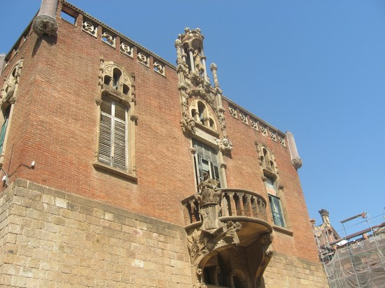 Photo hospital de santa creu i sant pau barcellona in Barcelona - Pictures and Images of Barcelona - 550x412  - Author: Barbara, photo 425 of 609