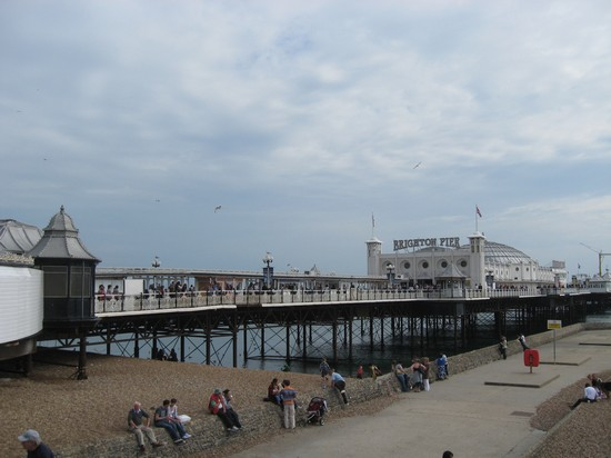Photo brighton pier brighton in Brighton - Pictures and Images of Brighton - 550x412  - Author: Barbara, photo 21 of 24
