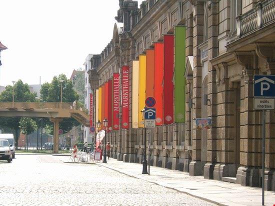 il mercato coperto nella Neue Stadt