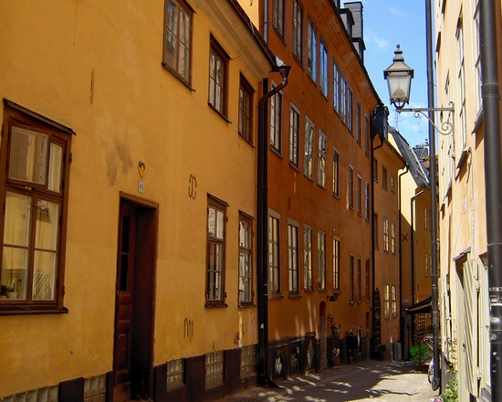 Photo Gamla Stan in Stockholm - Pictures and Images of Stockholm