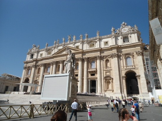 Photo san pietro roma in Rome - Pictures and Images of Rome - 550x412  - Author: Annamaria, photo 29 of 993