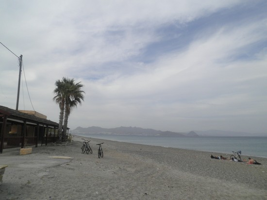 Photo la spiaggia in primavera kos in Kos - Pictures and Images of Kos - 550x412  - Author: Laura, photo 16 of 28