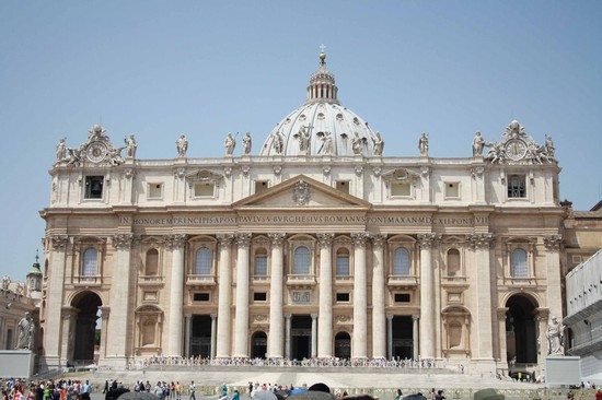 Photo san pietro roma in Rome - Pictures and Images of Rome - 550x366  - Author: Alice, photo 30 of 993