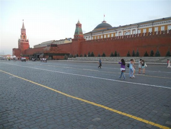 Photo mosca piazza rossa in Moscow - Pictures and Images of Moscow - 550x413  - Author: Ludovico, photo 13 of 111