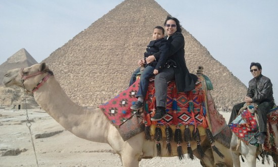 Photo Giza Pyramid in Cairo - Pictures and Images of Cairo 