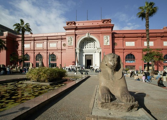 Photo National museum in Cairo - Pictures and Images of Cairo - 550x398  - Author: Ereen Yousef, photo 5 of 134