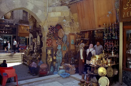 Photo Khan El Khalili in Cairo - Pictures and Images of Cairo 