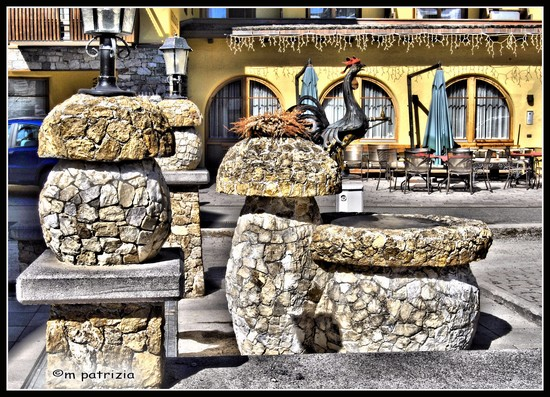 Photo La fontana del gallo in Livigno - Pictures and Images of Livigno