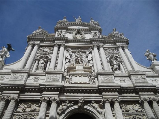 Photo venezia chiesa di santa maria del giglio in Venice - Pictures and Images of Venice - 550x413  - Author: Ludovico, photo 1 of 720