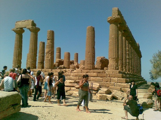 Photo agrigento tempio di giunone in Agrigento - Pictures and Images of Agrigento