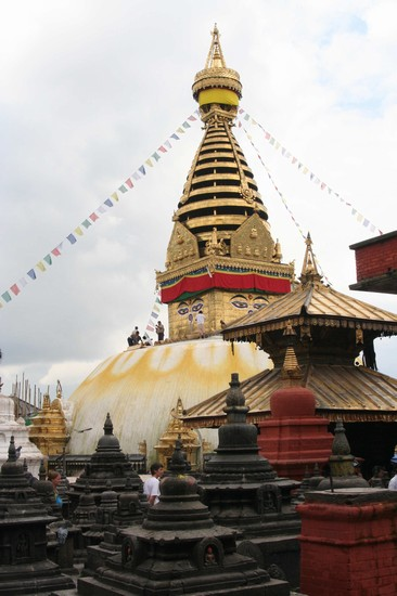 Photo Tempio delle Scimmie in Kathmandu - Pictures and Images of Kathmandu