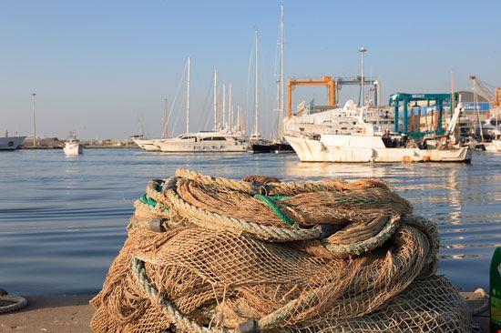 Scorcio del porto