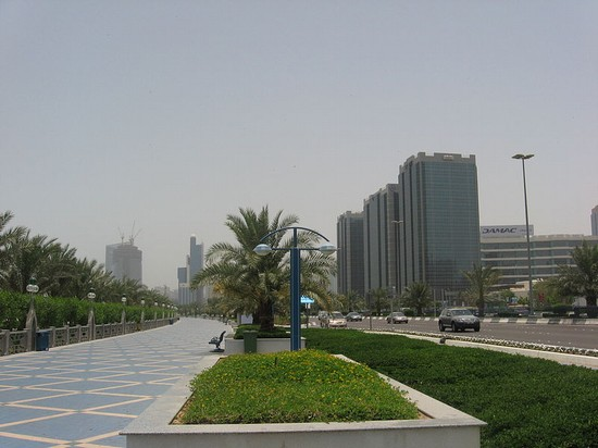 Photo Corniche Road in Abu Dhabi - Pictures and Images of Abu Dhabi