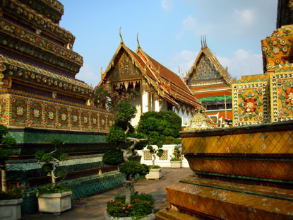 Photo bangkok wat pho interno: Photos de Bangkok et Images - 415x311  - Auteur: La rédaction, Photo 4 sur 124