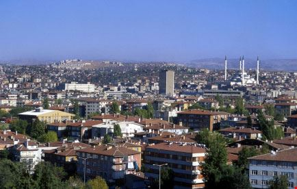 Ankara dall'alto