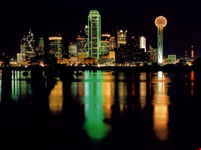 Dallas di notte