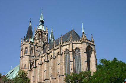 Cattedrale a Erfurt
