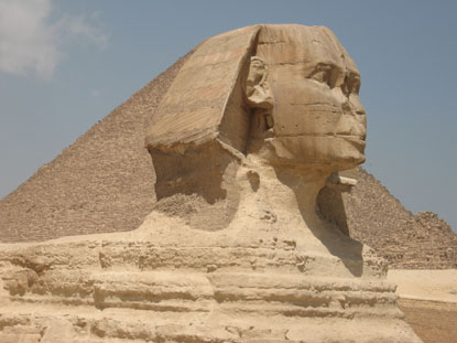 Photo giza la sfinge in Giza - Pictures and Images of Giza - 415x311  - Author: Editorial Staff, photo 3 of 11