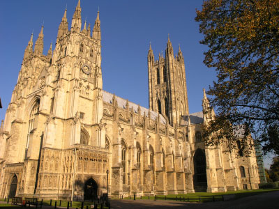 Photo canterbury cattedrale di canterbury in Canterbury - Pictures and Images of Canterbury - 400x300  - Author: Editorial Staff, photo 2 of 7