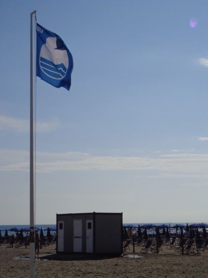 Finalmente la bandiera blu!