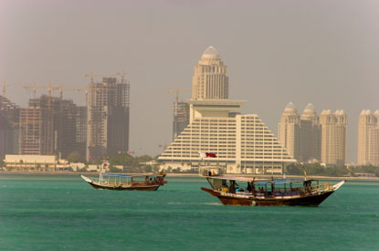 Photo doha baia di doha in Doha - Pictures and Images of Doha - 415x275  - Author: Editorial Staff, photo 1 of 32