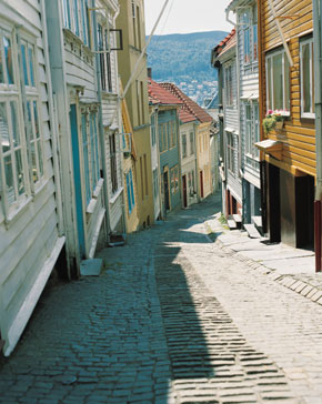 Photo bergen vicoli di bergen in Bergen - Pictures and Images of Bergen - 290x364  - Author: Editorial Staff, photo 6 of 49