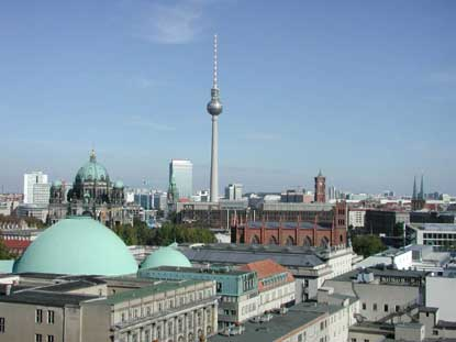 Photo Vista della città in Berlin - Pictures and Images of Berlin