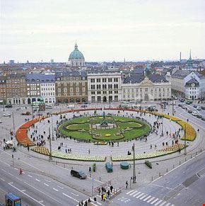 7125 copenhagen veduta della piazza principale di copenaghen kongens nytorv
