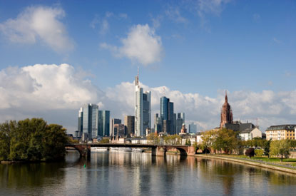 Photo frankfurt veduta citta in Frankfurt - Pictures and Images of Frankfurt - 415x275  - Author: Editorial Staff, photo 2 of 45