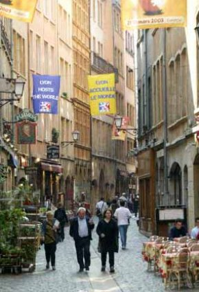 Photo lyon strade di lione in Lyon - Pictures and Images of Lyon