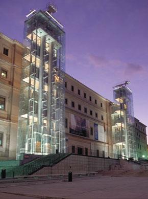 Museo nacional centro de arte reina sofia in madrid - Museo nacional centro de arte reina sofia ...