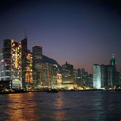 Grattacieli di Notte