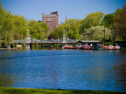 Photo boston giardini pubblici di boston in Boston - Pictures and Images of Boston - 415x309  - Author: Editorial Staff, photo 1 of 60