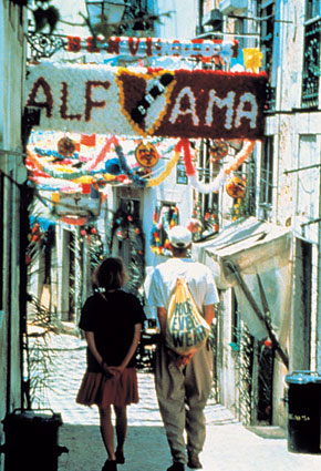 Photo quartiere di alfama in Lisbon - Pictures and Images of Lisbon