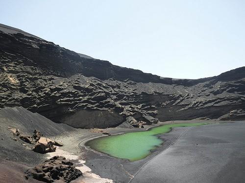 El golfo lanzarote attractions - Lanzarote lieux d interet ...