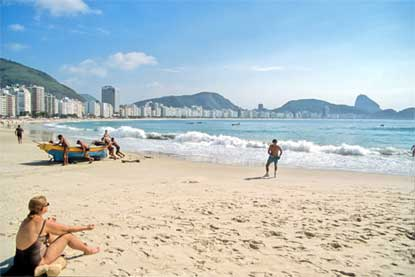 Foto Spiaggia di Copacabana a Rio de Janeiro - 415x277  - Autore: Redazione, foto 1 di 224
