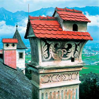 Photo innsbruck camini caratteristici in Innsbruck - Pictures and Images of Innsbruck 