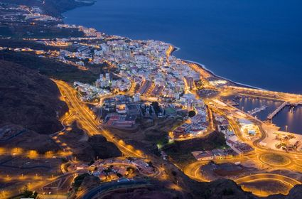 Photo Santa Cruz di notte in Santa Cruz de Tenerife - Pictures and Images of Santa Cruz de Tenerife
