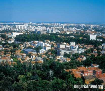 Vista generale della città